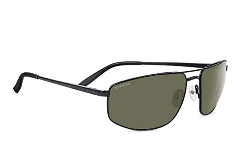 Serengeti Eyewear Sonnenbrille Modugno, Satinack/Polarized, 8407