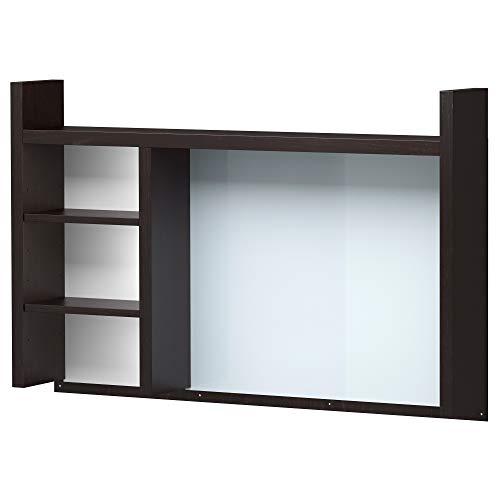 IKEA Micke Zusatzeinheit, hoch, schwarzbraun