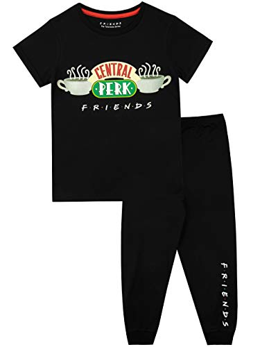FRIENDS Pijamas de Manga Corta para niñas Central Perk
