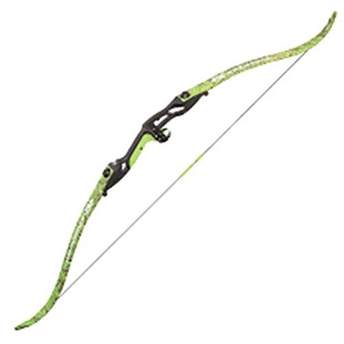 SE Kingfisher Bowfishing Recurve Bow, Flo Green, 40#, RH