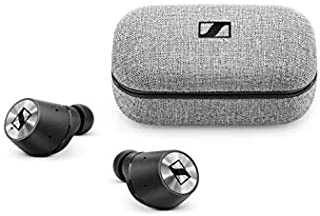 Sennheiser Momentum True Wireless Bluetooth Earbuds with Fingertip Touch Control - Black/Silver