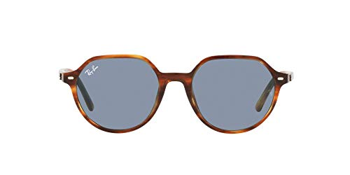 Ray-Ban 0RB2195 Gafas, STRIPED HAVANA, 53 Unisex Adulto