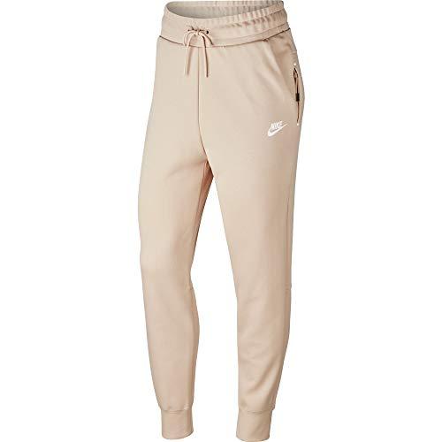 Nike WMNS TECH FLEECE PANT Größe: XS Farbe: BEIGE