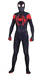 "professional Unisex Lycra Spandex Halloween Cosplay Bodysuit. New features of the poem ""Spider"" Miles Morales Cosplay …"