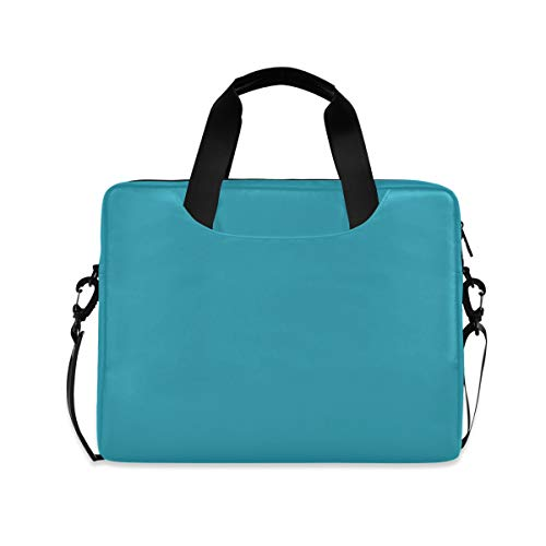 Sky Blue 16 inch Laptop Shoulder Bag Travel Laptop Briefcase Carrying Messenger Bags