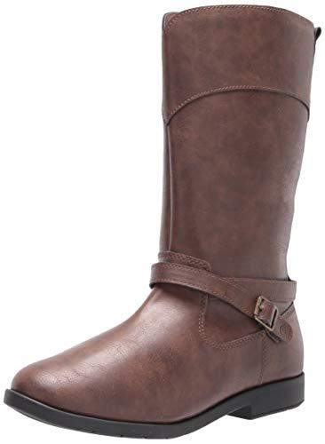 Stride Rite girls Classic Fashion Boot, Chocolate, 12.5 Little Kid US