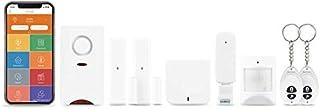Home8 AlarmShield Wireless Security System (7-Piece Kit), Optional 24/7 Professional Monitoring, 2-Door Sensors,1-Motion Sensor, 1-Siren & More