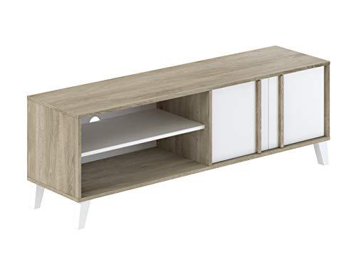 AmazonBasics - TV-Board, 150x40x50cm, Weiß