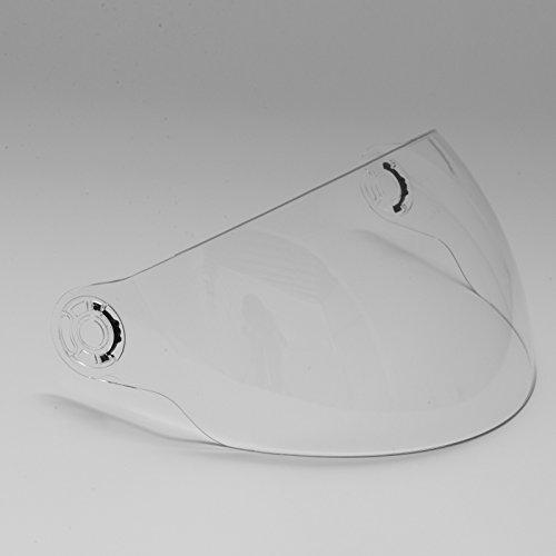 Visière Transparent de Remplacement Jet Casque Nitro G-Mac Takachi Swift