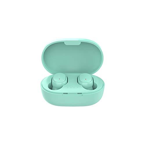 TwiHill a6s pro tws fones de ouvido sem fio esportes auriculares bluetooth 5.0 fone de ouvido para XiaoMi HuaWei oppo samsung telefone (Verde)