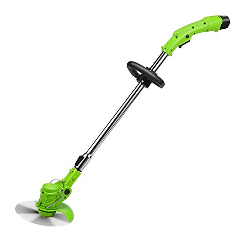 Lowest Prices! nonbrand Lithium Ion Cordless Edger, String Trimmer, with Adjustable Telescopic Rod a...