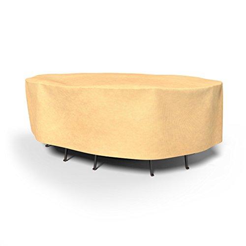 Budge 4 Saisons Ovale Patio Table et chaises Combo Coque P5 a17bg1 Classique Peau