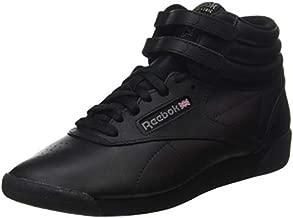 Reebok Women's Freestyle Hi Sneaker, Black 2, 9