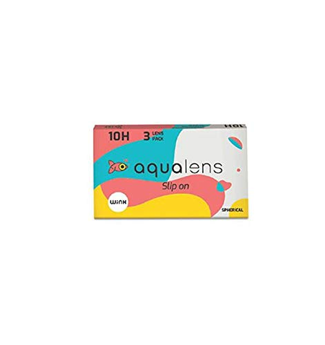 Aqualens 10 H Monthly Disposable Contact Lens (3 Lens/Box) - (-0.75)
