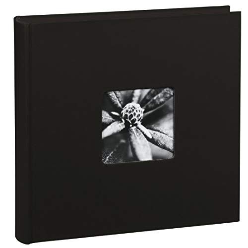 "Hama Album Photo ""Fine Art"" (format 30 x 30 cm, 100 pages noires, sans spirale) Noir"