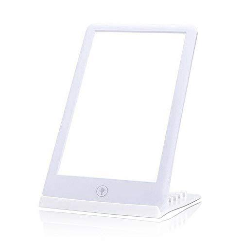 Dyna-Living Tageslichtlampe 10000 lux, Lichttherapie Tageslichtlampe Schreibtisch Stimmungslicht mit 3 Helligkeitsstufen (32000Lux/10000Lux/5600Lux)