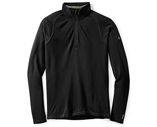 SmartWool Men's NTS Mid 250 Zip T Top Black T-Shirt MD