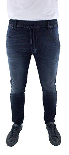 Diesel Krooley-NE Jogg 0686F Herren Jeans Blau