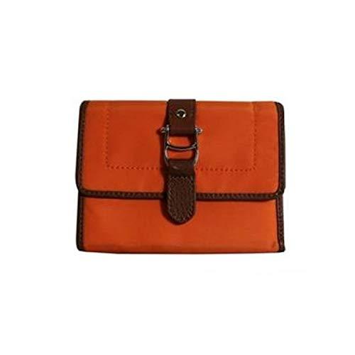 Aigner Damen Geldbörse Geldbeutel 152923 orange-rot