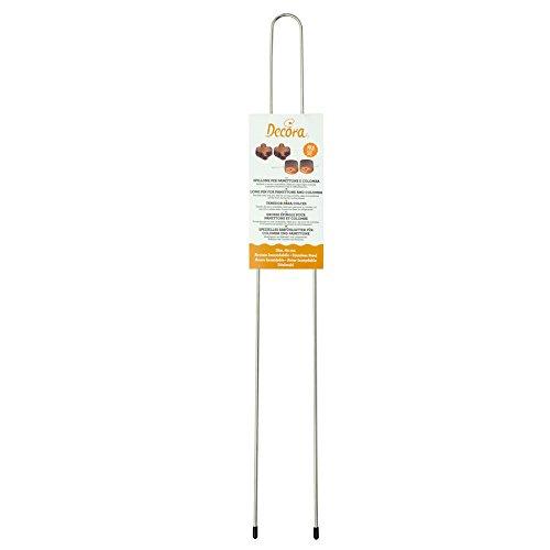 Decora 0064016 Spillone per Panettone/Colomba, Acciaio, Grigio