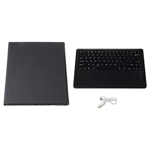 Sidougeri Funda para iPad Pro de 12,9 pulgadas 2020 con teclado portalápices retroiluminado