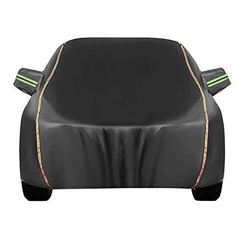 ASY Cubierta de Coche Impermeable Fundas para Coches Compatible con Ford Mustang/Mustang Mach-E Exterior Automóviles Cubierta Tarpa de Coche Transpirable Anti-Granizo de Oxford