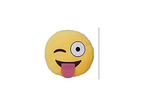 JingYuan Lustiges Plüsch-Spielzeug, lustiges Emoji-Kissen