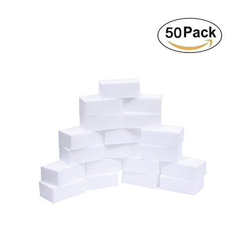 50Pcs Magic Sponge Eraser Melamine Cleaner, Household Cleaning Non-Scratch Sponge Universal Cleaner for Multi Surface - Extra Large 4X2.7X1.2