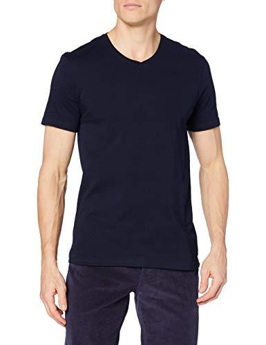 United Colors of Benetton Herren T-Shirt Pullover, Blau (Blu 016), Medium