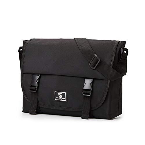 OIWAS 14 Inch Messenger Bag - School Satchel For 14 Inch Laptop Leisure Computer Crossbody Bookbag Briefcase Men Women