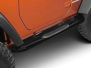 Textured Black for Jeep Wrangler JL 2 Door 2018-2020 RED ROCK Redrock 4x4 PNC Side Step Bars