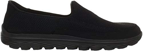 Skechers GO Walk 2, Herren Sneakers, Schwarz (Black), 42 EU (7.5 UK)