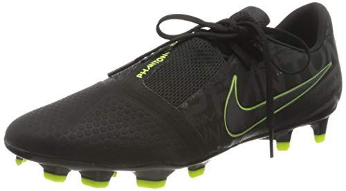 Nike Herren Phantom Venom Pro FG Fußballschuh, Black/Black-Volt, 45 EU