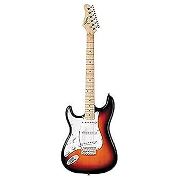 Austin Guitars AST100LSB Left Handed Electric Guitar Sunburst