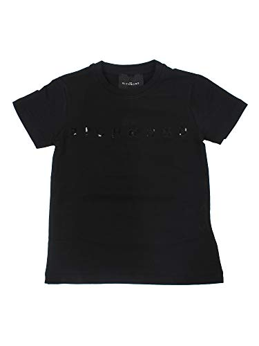 John Richmond Junior - Camiseta negra para niño, modelo RGA20001TSBLACK Negro 16 Años
