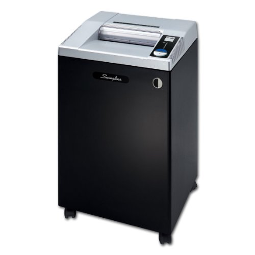 Best Deals! Swingline GBC Paper Shredder, Commercial TAA Compliant, Jam Stop, 25 Sheet Capacity, Cro...