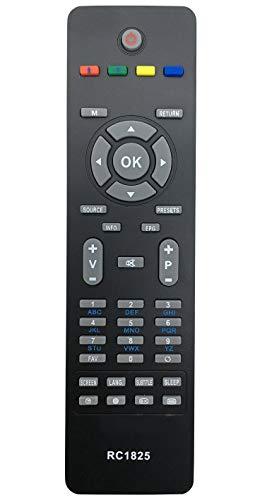 ALLIMITY Sostituire il Telecomando RC1825 RC-1825 apto para Modello Specifico para CELCUS Hitachi JMB Telefunken VESTEL TV