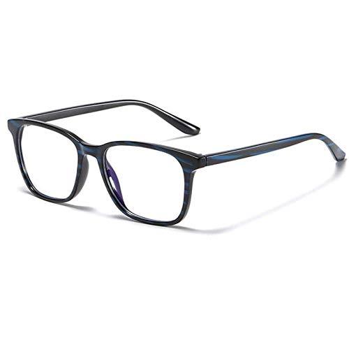 xzczxc Ultralight Tr90 Anti Blue Light Blocking Computer Glasses Eyeglasses For Men Women Blackblue