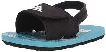 Quiksilver Boys  Molokai Layback Infant Flip-Flop Black/Blue/Grey 1 16  M US