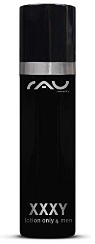 RAU XXXY Lotion seulement par hommes 50 ml - Anti Aging Skin Cream for Men - Crème Hydratante contre les peaux sèches - Acide Hyaluronique - Made in G
