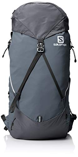 Salomon, Damen-Rucksack, OUT NIGHT 28 + 5 W, Dunkelgrau (Lilac Grey), 33L, Größe: S/M, LC1093900
