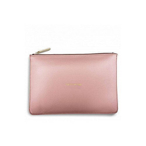 Katie Loxton Clutch Bag - The Perfect Pouch - Perfect Pink - Pretty in Pink