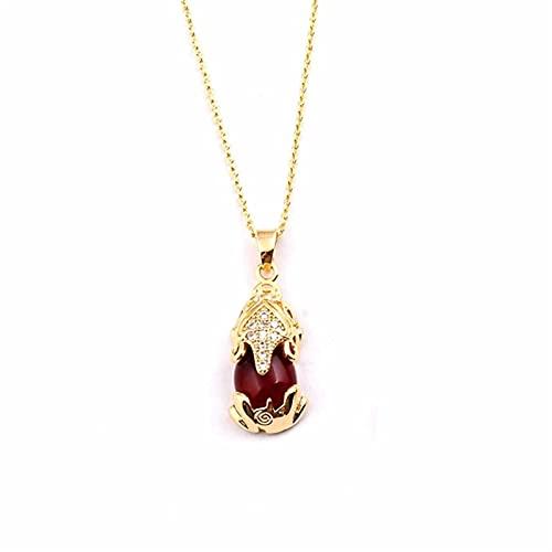 Collar con colgante curativo de cristal de cornalina, cornalina natural, piedras preciosas de piedras preciosas, cristales, joyería, energía positiva para mujeres, meditación, regalo de joyería