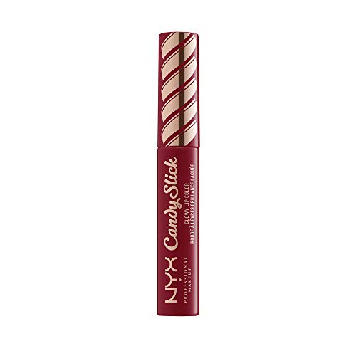 NYX PROFESSIONAL MAKEUP Candy Slick Glowy Lip Color, Lip Gloss, Single Serving