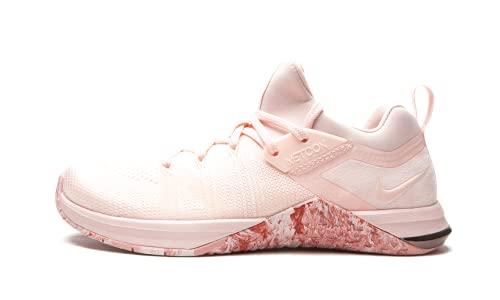 Nike Wmns Metcon Flyknit 3, Scarpe da Fitness Donna, Multicolore (Echo Pink/Cedar/White/Mtlc Dark Grey 606), 44 EU