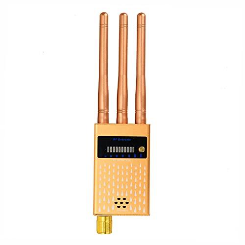 Detector De RF De Tres Antenas Detector De Cámara Oculta Equipo De Monitoreo De Teléfonos Móviles De Alta Sensibilidad Y Detección Inalámbrica De Repelente De Insectos gsm Rastreador GPS