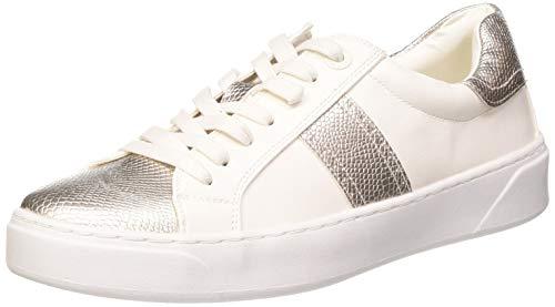 MTNG Attitude 69213, Zapatillas para Mujer, Blanco (Noen Blanco/Kobry Plata C49323), 37 EU