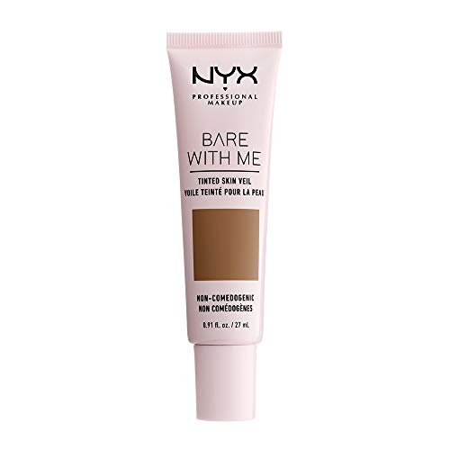 NYX PROFESSIONAL MAKEUP Bare With Me Tinted Skin Veil - Nutmeg Sienna, Medium Deep With Neutral Undertone