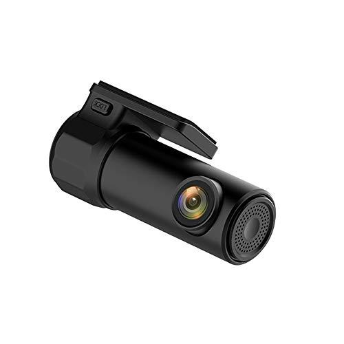 Grabadora de conducción oculta, grabadora de automóvil de alta definición panorámica de 360 grados, conexión WiFi, 1080p, ángulo ancho de 170 grados, grabación automática de videos de colisión y blo