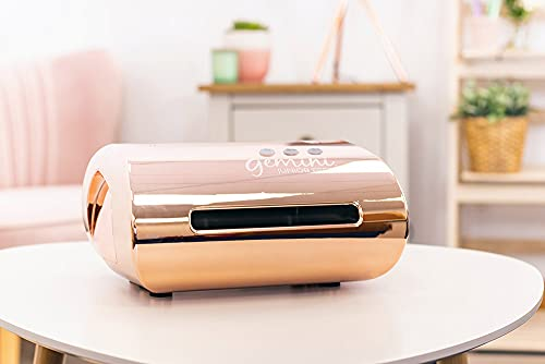Gemini Crafter's Companion Junior Portable Die Cutting and Embossing Machine in Rose Gold (37.9 x 25.5 x 21 cm)